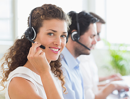 Overload call centre support service